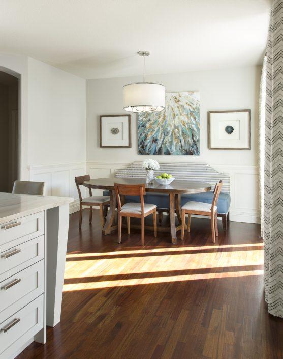 Breakfast Nook Design by Factor Design Build in Denver CO
