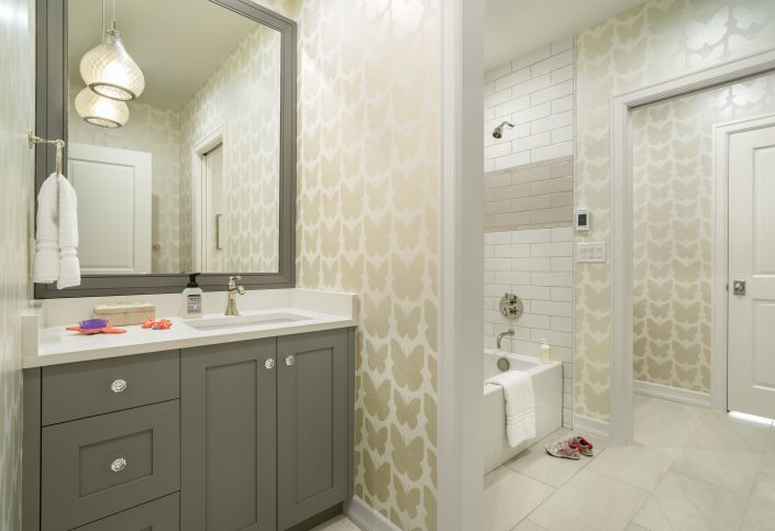 Kids Bathroom by Factor Design Build | Denver CO