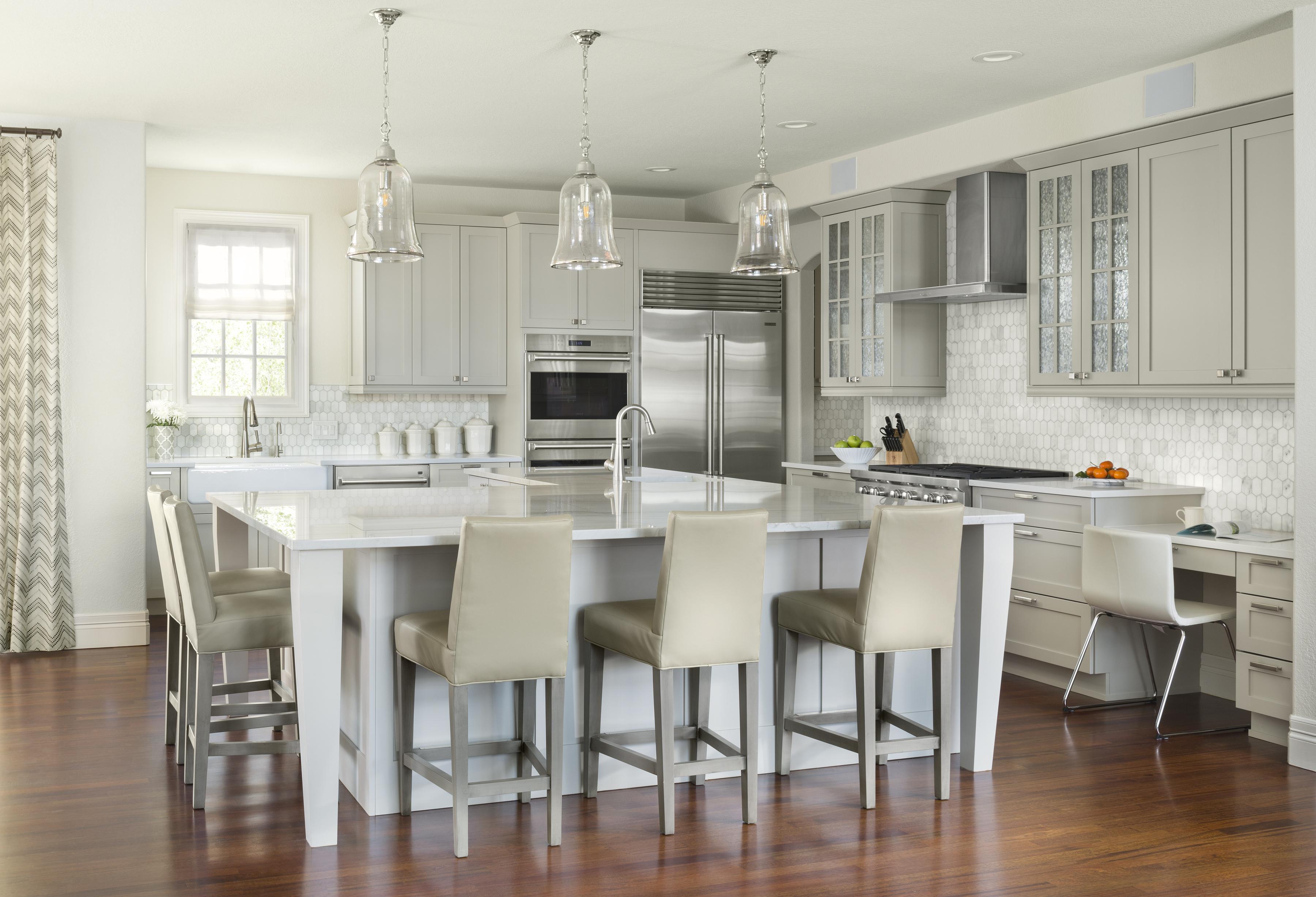 Modern Eat In Kitchen Remodel by Factor Design Build in Denver CO