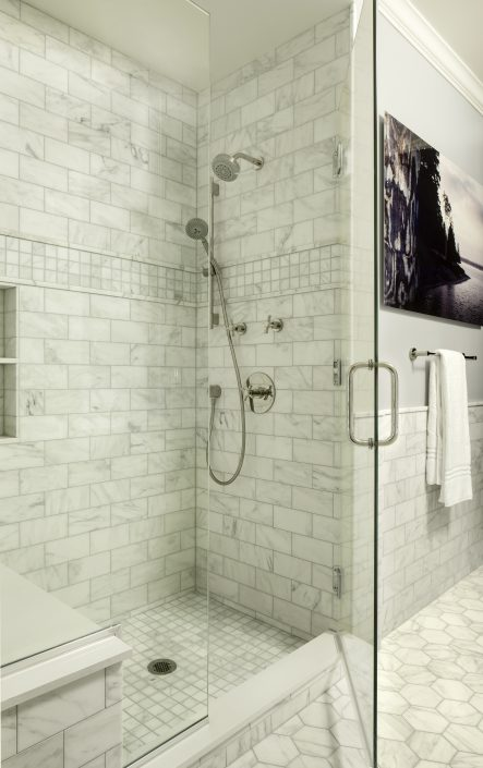 Steam Shower by Factor Design Build | Denver CO