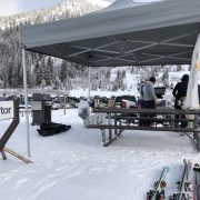 The Factor Team spends the day skiing & BBQing | Factor Design Build Blog