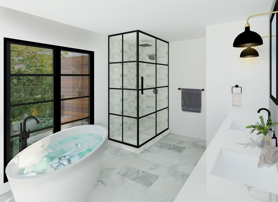Wilson Bath 3 Factor Design Build