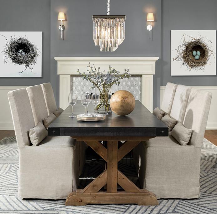 historic restoration dining room remodel