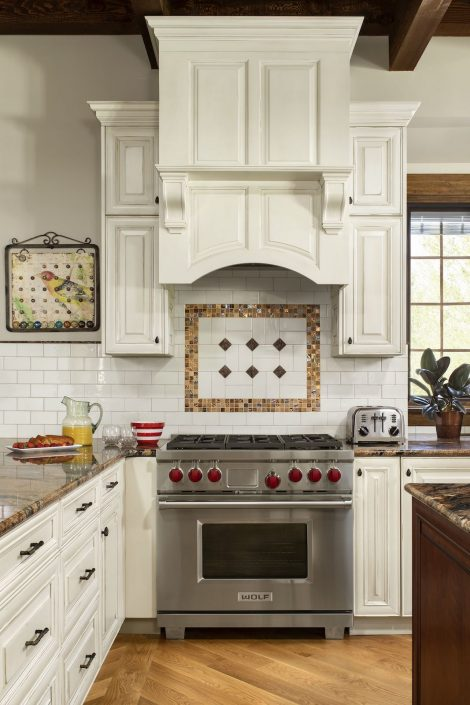 Oven in remodeled kitchen