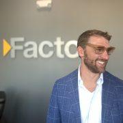 Josh Fiester wearing glasses