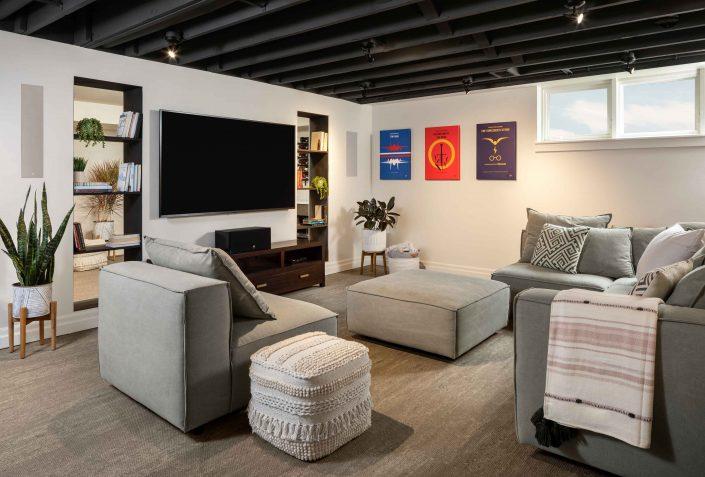 remodel basement in denver factor design build