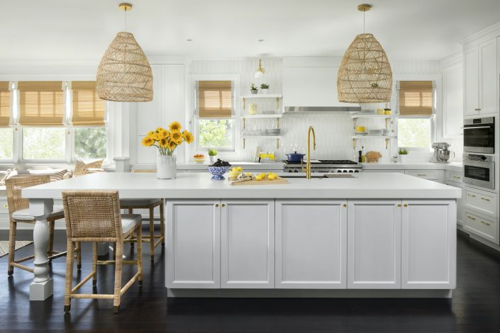 Remodeled white kitchen