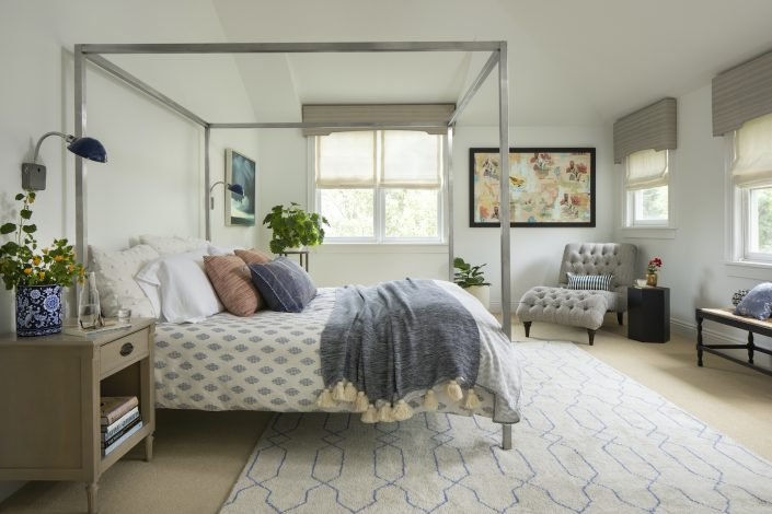 Bedroom with natural light coming in the window