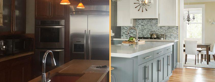 Before & After Kitchen Remodel | Factor Design Build | Denver CO